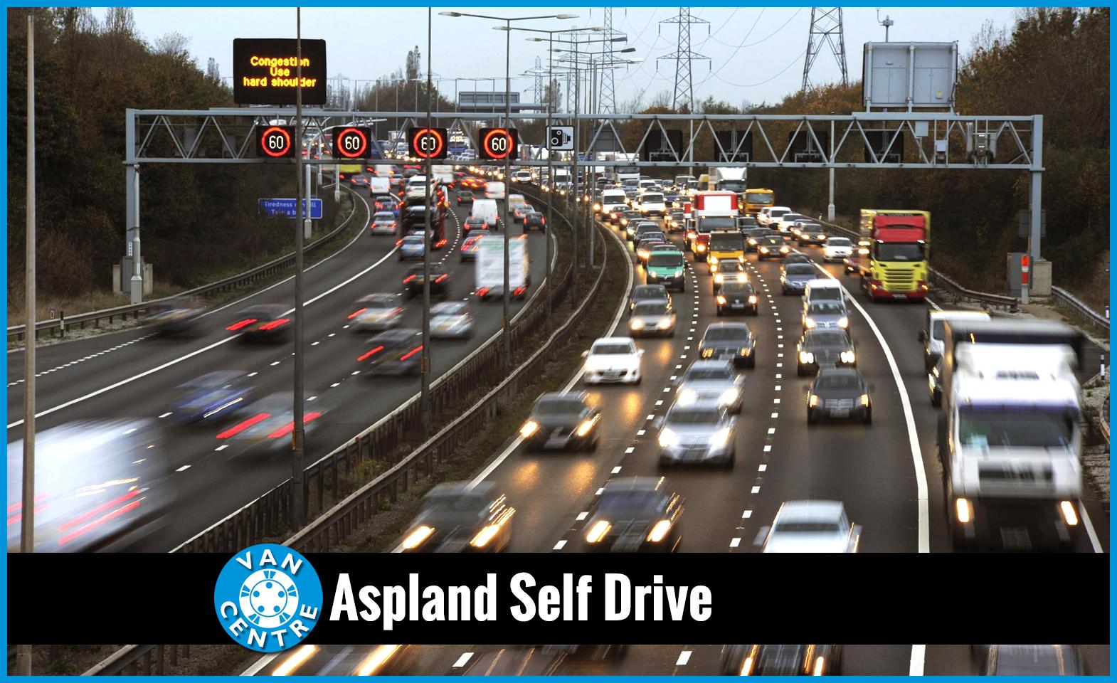 Do you use smart motorways correctly? | Aspland Self Drive, Norwich