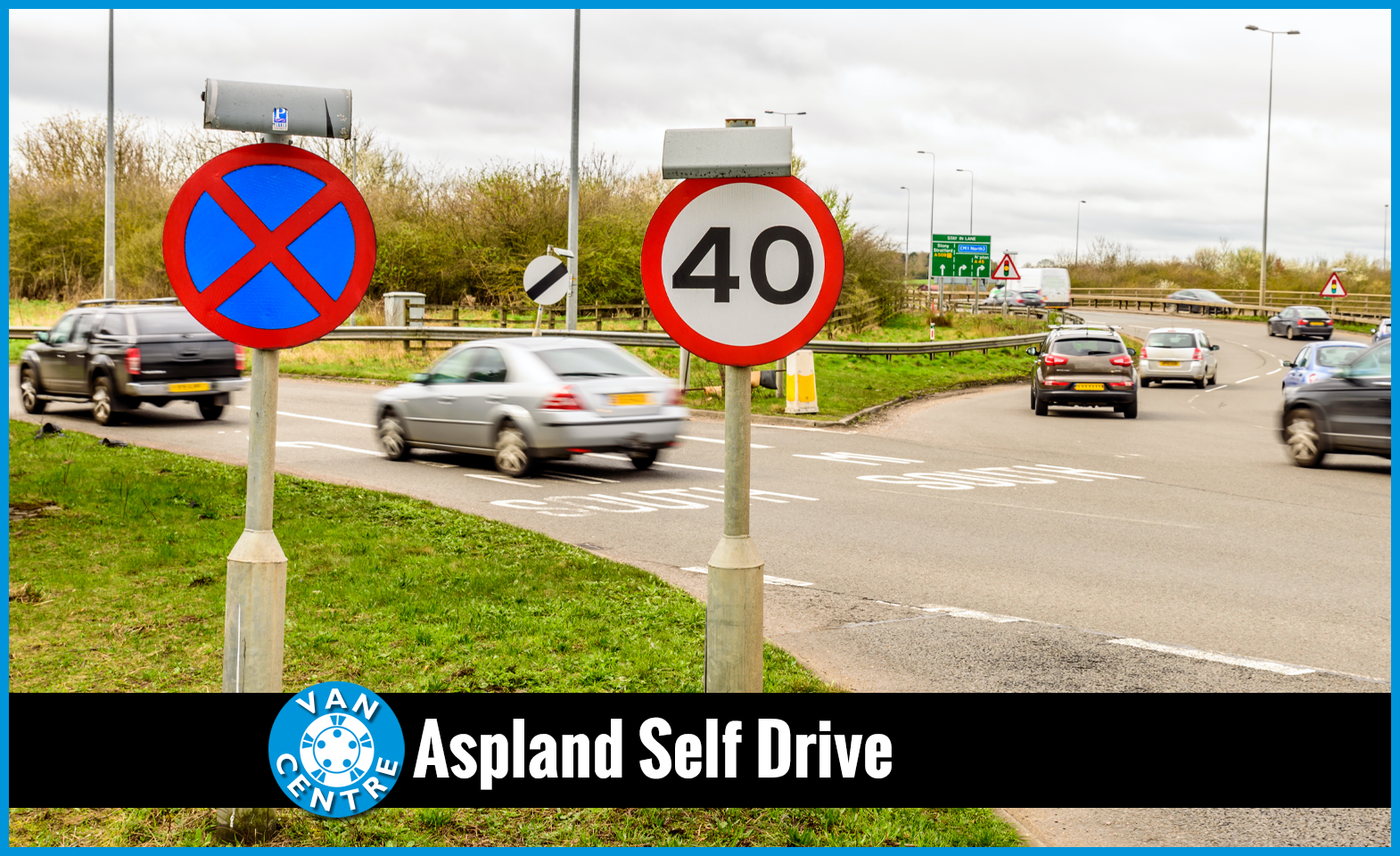 Do you know the correct van speed limit? | Aspland Self Drive